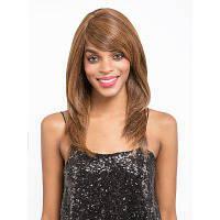 Синтетическая машина для волос сделана прямая парик для волос с термостойкой пайкой для женщин средней длины 12 дюймов V05 12дюймов