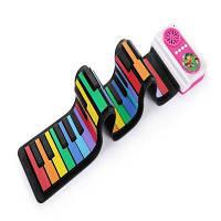 IWORD Rainbow Version 49 Key Portable Ручной рояль Встроенная акустическая игрушка для детей 89X12X0.6 см