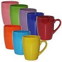 040-01-54 Чашка 400мл Цвета радуги