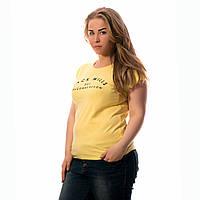 Женская футболка с принтом Турция желтая Jack Wills