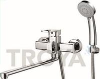 Смеситель для ванны длинный гусак TROYA NOD7-A188