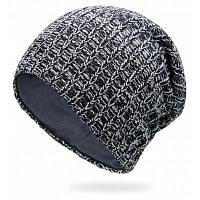 Простая полоса для вязания крючком Вязальная шапочка Чёрный