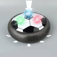 Дети Air Power Футбол Футбол Размер 4 Мальчики Девочки Спорт Детские игрушки Обучение Футбол Крытый Открытый диск Hover Ball Чёрный