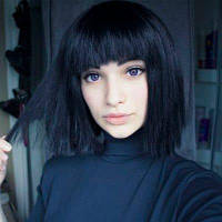 Новые моды Боб Стиль прямые волосы парик человеческих волос Парики 14u0434u044eu0439u043cu043eu0432