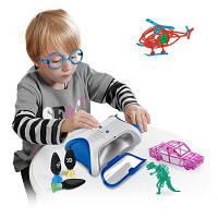 Макияж 3D DIY Формовочная машина Creative Mini DIY Toy Синий