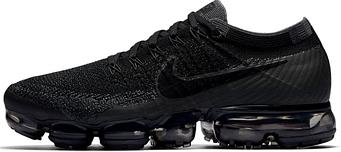 Женские кроссовки Nike Air Vapormax Flyknit (Black / Anthracite - Dark Grey)