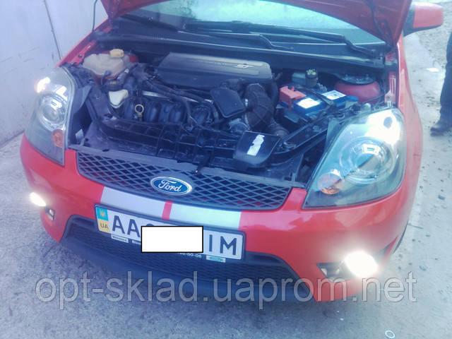 Установка линз в фары  Форд Фиеста Ford Fiesta