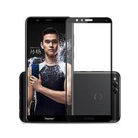 Naxtop Полное закаленное стекло для HUAWEI Honor 7X Чёрный