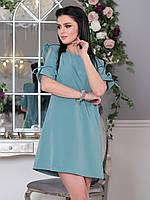Платье Элин мятное мини, фото 1