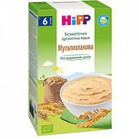 Безмолочная органическая каша HiPP Мультизлаковая, 200 г