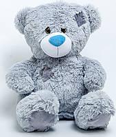 Мягкая игрушка Мишка 80 см серый Тедди