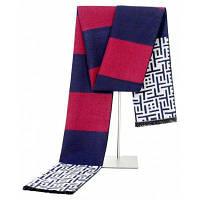 Модный дизайн Повседневные шарфы Зимние мужские шарфы Роскошные бренды Высокое качество Теплые шарфы Мужчины Синий