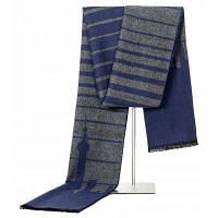 Модные повседневные шарфы Зимние мужские шарфы Роскошные бренды Высокое качество Теплые шарфы Мужчины Синий