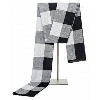 Платки и шарфы Шарф для мужчин Шарф Шарф Пашмина Зимний Теплый Варп Мужской Плед Фулард черно-белый