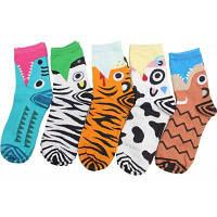 5 пар кота мультфильм носок женский хлопок лодыжки загрузки лодыжки сапоги кошки собака кошка полоса леди Цветной