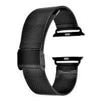 Нержавеющая сталь ремешок для часов Apple 42mm Чёрный