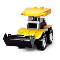 Sluban Building Blocks Обучающие детские игрушки Строительные машины (37-44 шт.) Бледно-жёлтый цвет