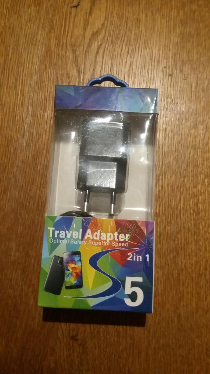 Адаптер USB SAMSUNG  GALAXSY S3/S4 (2000 Mah)
