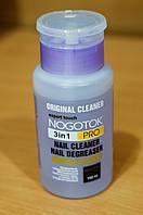 Профессиональное средство для обезжиривания, снятия липкого слоя гель лака и мытья  без ацетона Nogotok 250мл