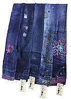 Лосины детские джинс №С-02 (уп. 12 шт.)