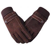 Перчатки для мужчин Велоспорт и мотоциклы для предотвращения холода и тепла зимой 24cм8.5cм25cм