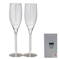 7047-13 Набор бокалов для шампанского Хрустальная дорожка 2шт 220мл