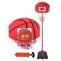 NuKied детский набор для игры в баскетбол на улице Кольцо и стенд 2м Цветной