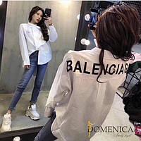 Женская длинная рубашка Balenciaga