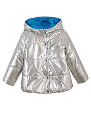 Детская демисезонная куртка на девочку, флис,в расцветках, р.92-116