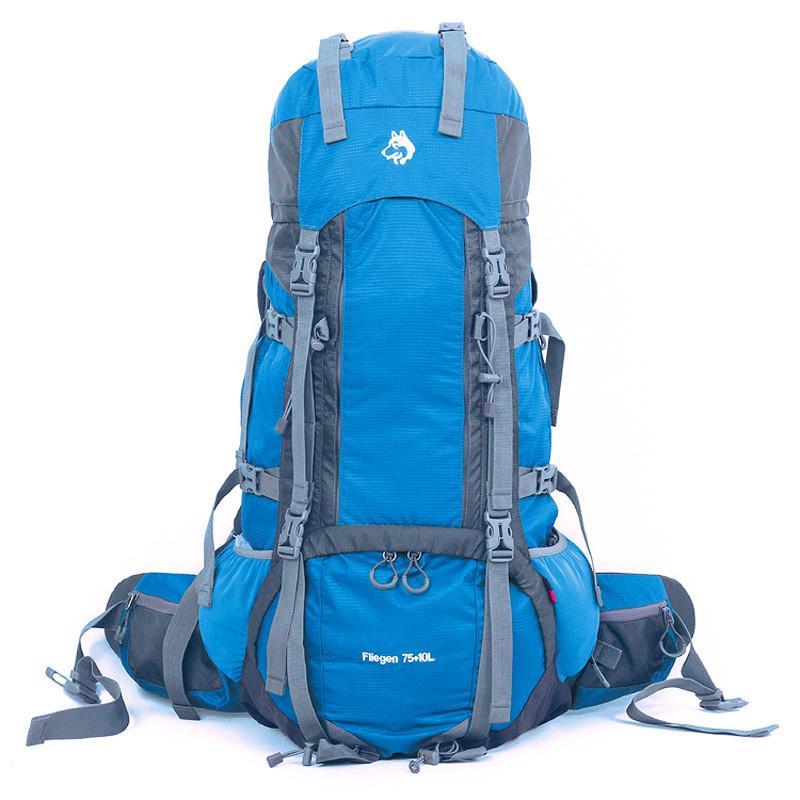 Рюкзак спортивный Jungle King 75+10L синий