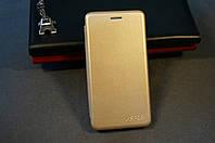 Чехол книжка для Xiaomi Redmi None 5 золотой (золото)