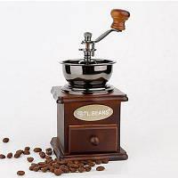 Ручная шлифовальная машина для измельчения бруса Ручная шлифовка Vintage Solid Wood Adjust Beans Machine Makers Коричневый