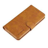 Роскошный кожаный чехол Удобный футляр для телефона с крышкой для IPhone 7 Plus / 8 Plus Жёлтый