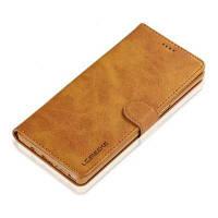 Роскошный кожаный чехол Удобный футляр для телефона с футляром для Samsung Galaxy Note 8 Жёлтый