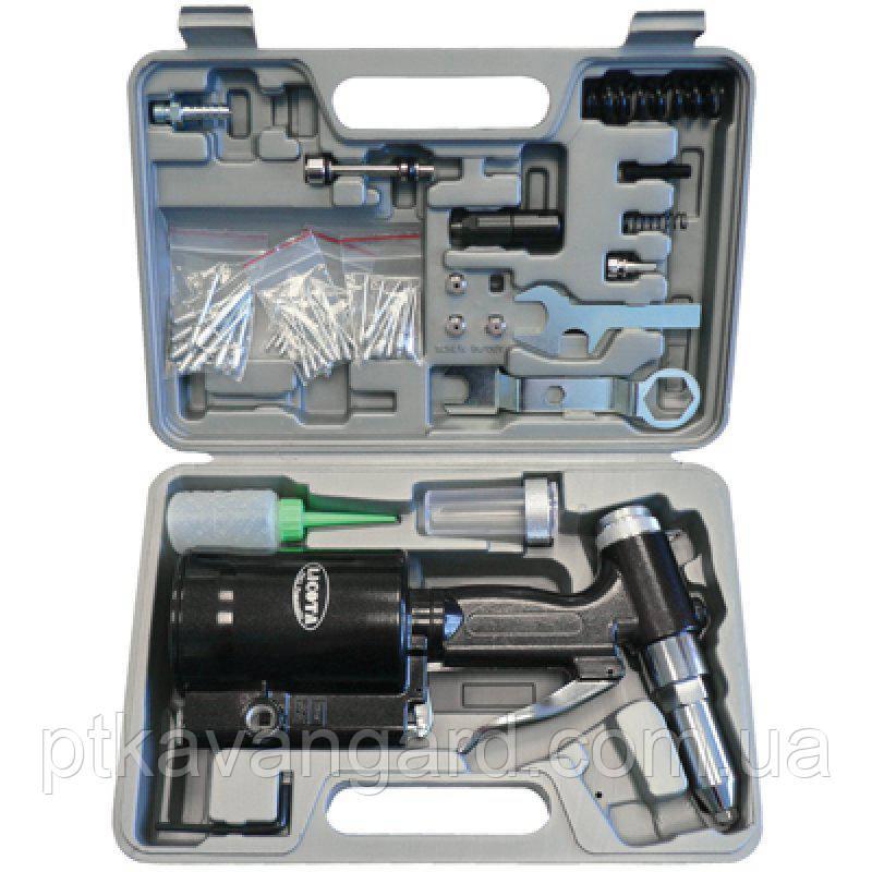 Заклепочный пистолет пневмогидравлический до 4,8 мм набор LICOTA PAV-00005K