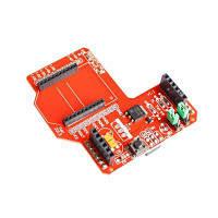 Плата расширения беспроводного модуля Zigbee Красный