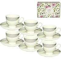 1751 Сервиз чайный 12 пр. (чашка-200мл, блюдце-15см) 02248