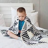 Плед одеяло Треугольники 140*110см