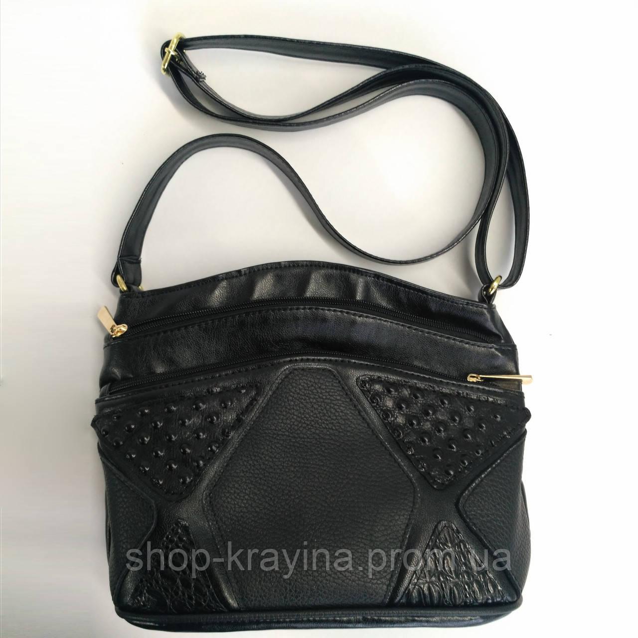 Cумка black elegance 27*22*11 см