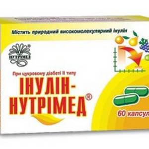 Инулин - Нутримед капсулы ,60 шт, фото 2