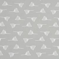 Ткань, хлопок премиум класса одуванчики на сером фоне №4-665