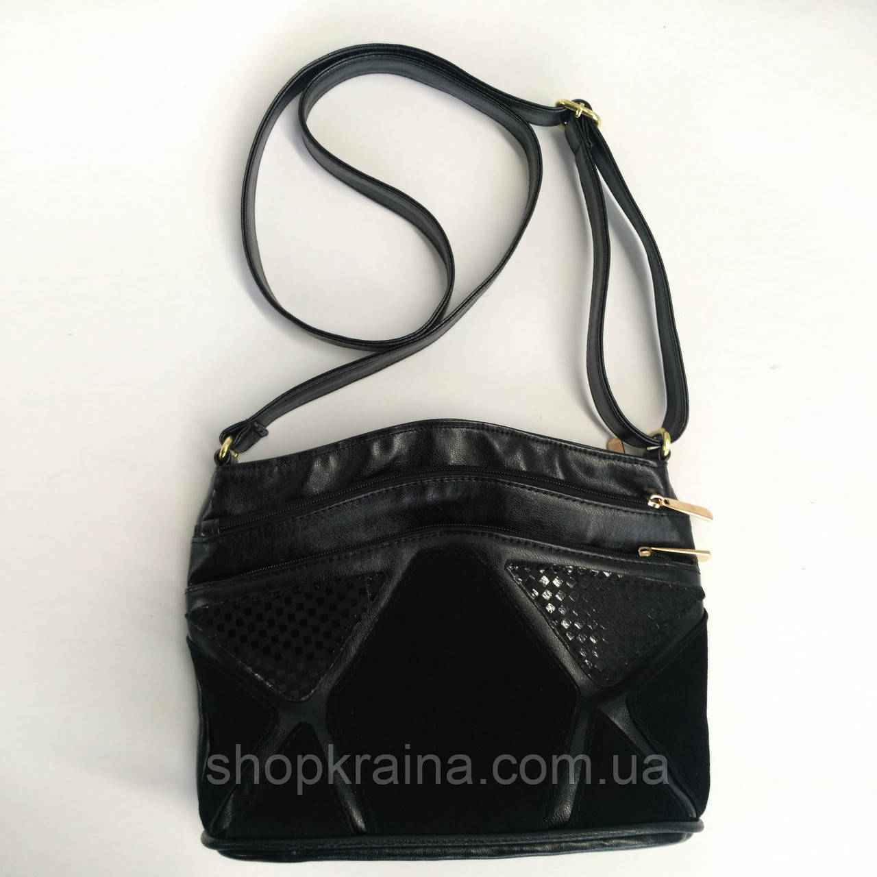 Cумка black elegance F 27*22*11 см