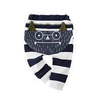 TAOQIMAIDOU Детские брюки Осенняя одежда Модные новорожденные брюки мальчика брюки Марка MD160Q012 6 м