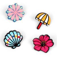 Роскошные комплекты брошюр с оболочкой Shell Umbrella Accessories Цветной