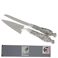 37230 Набор для торта (лопатка\нож) Виноград