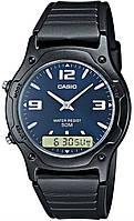 Мужские спортивные часы CASIO AW-49HE-2AVEF