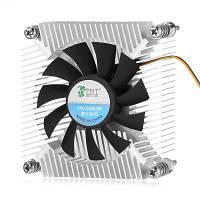 Ультратонкий портативный кулер для процессоров охлаждающий вентилятор для охлаждения процессора 2500 об / мин Чёрный