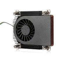 Ультратонкий охлаждающий вентилятор для охлаждения процессора кулер для процессоров 3000 об / мин Чёрный