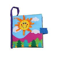 Jollybaby Baby Ткань Книга Раннее образование Прочная игрушка для отдыха 20 см / 7.9 дюйма