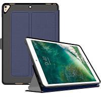Смарт-чехол для iPad 2/3/4 Pu Кожаная книга с флип-крышкой с трифоном Синий